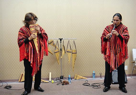 ペルーの民族音楽「カルパンディーナ」