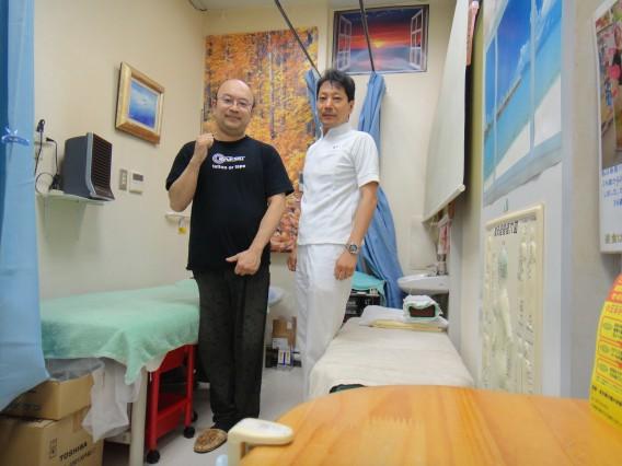 治療家の先生が当院に来院してくれました。