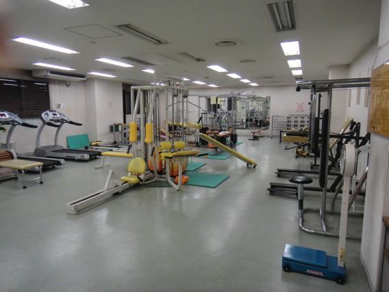 茂原市民体育館のトレーニングジム