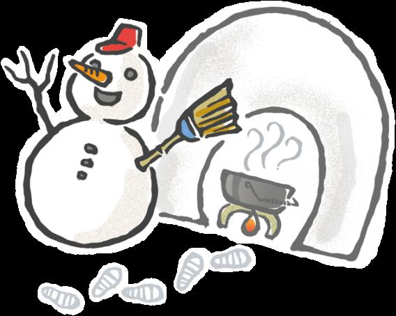 大雪にご注意下さい。