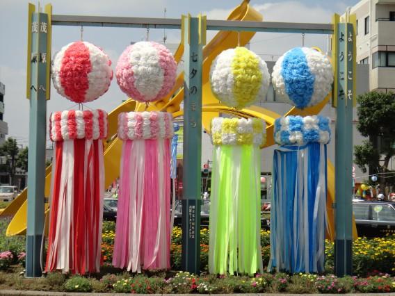 日本三大祭りの一つ 茂原七夕絶賛開催中