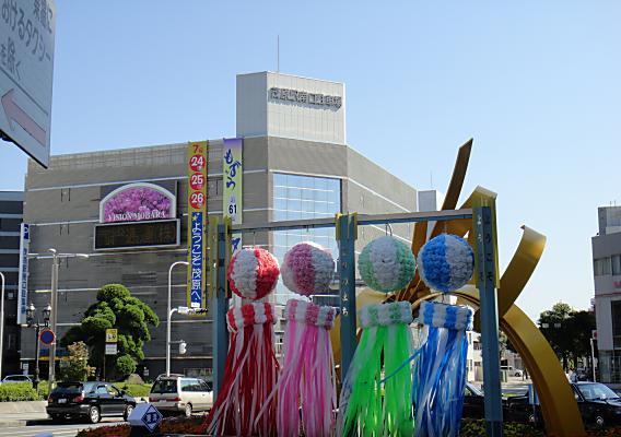 第61回 茂原七夕祭りは7/24、25、26です。